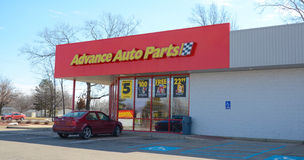 Advance Auto Parts store Royalty Free Stock Photography