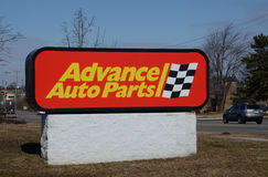 Advance Auto Parts store logo Stock Photo