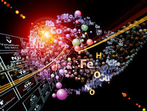 Advance of Chemical Elements Stock Photos