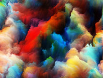 Advance of Colors Royalty Free Stock Photography