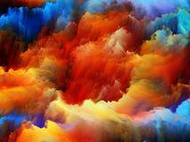 Advance of Colors Stock Photo