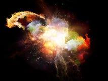 Advance of Design Nebulae Stock Photos