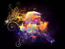 Advance of Design Nebulae Royalty Free Stock Image