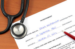 Advance directive. Advanced directives are very important today Stock Photo