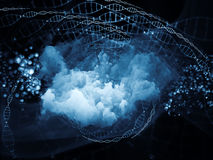 Advance of DNA Royalty Free Stock Images