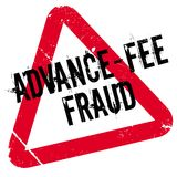 Advance-Fee Fraud rubber stamp Stock Photography