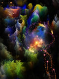 Advance of Fractal Dreams Royalty Free Stock Images