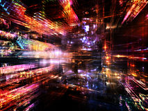 Advance of Fractal World Royalty Free Stock Images