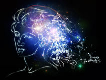 Advance of Inner Thoughts Royalty Free Stock Photo