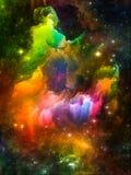 Advance of Interstellar Clouds Royalty Free Stock Photo
