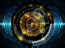 Advance of Mystic Circle vector illustration