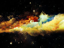 Advance of Nebula Stock Images