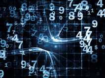 Advance of Numbers Stock Images