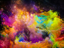 Advance of Painted World Stock Photography