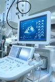 Advance ultrasound machine in hospital Stock Photo