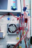 Advanced equipment for the treatment of chronic kidney disease.  stock images