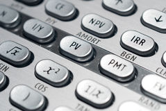 Advanced Financial Calculator Royalty Free Stock Photos