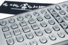 Advanced Financial Calculator Stock Photography