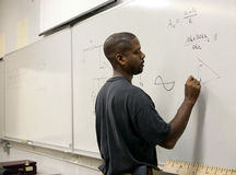 Advanced Math Student Stock Image