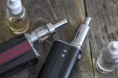 Advanced personal vaporizer or e-cigarette Stock Photos