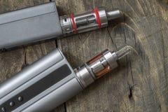Advanced personal vaporizer or e-cigarette Stock Photo