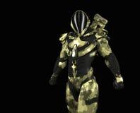 Advanced super soldier Stock Photos