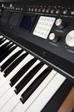 Advanced synthesizer. Home made advanced synthesizer prototype Stock Image