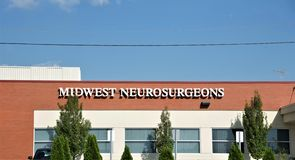 Midwest Neurosurgeons, Missouri. Advanced Technologies & Innovative Techniques To Get You Back To Everyday Life. Types: Cerebrovascular Surgery, Functional royalty free stock images