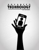 Advanced technology vector illustration