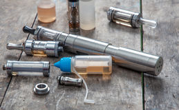 Advanced vaping device Stock Photography