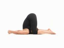 Advanced yoga pose Royalty Free Stock Images
