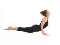 Advanced Yoga Pose Demonstration Stock Image