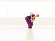 Advanced yoga practice Stock Images
