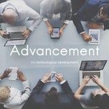 Advancement Technology Futuristic Innovation Development Concept Royalty Free Stock Image
