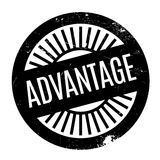 Advantage rubber stamp Stock Photo