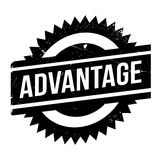 Advantage rubber stamp Stock Photos