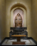 Adveniat Regnum Tuum. Shrine in the Saint Cecilia Cathedral in Omaha, Nebraska. Adveniat Regnum Tuum translates to May Your Kingdom Come Royalty Free Stock Photography