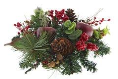 Advenimiento de la Navidad de la decoración del vector Imagen de archivo libre de regalías