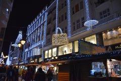 Advenimiento en Budapest Fotos de archivo libres de regalías