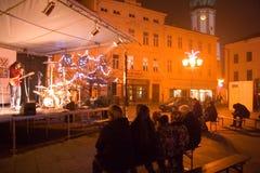 Advenimiento en la ciudad 2014 Fotos de archivo libres de regalías