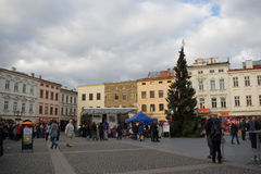 Advenimiento en la ciudad 2014 Fotografía de archivo libre de regalías