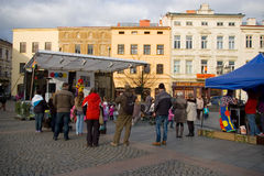 Advenimiento en la ciudad 2014 Foto de archivo