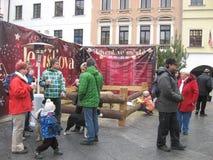 Advenimiento en la ciudad 2014 Imagenes de archivo