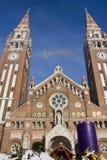 Advenimiento en Szeged, Hungría Fotografía de archivo libre de regalías