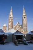 Advenimiento en Szeged, Hungría Imagen de archivo