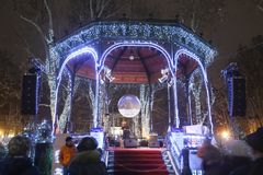 Advenimiento en Zagreb 2017 Imágenes de archivo libres de regalías