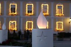Advenimiento en Zagreb Foto de archivo libre de regalías