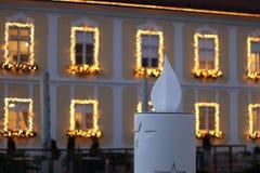 Advenimiento en Zagreb Imágenes de archivo libres de regalías
