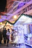 Advenimiento en Zagreb, Croacia 2016 Fotos de archivo
