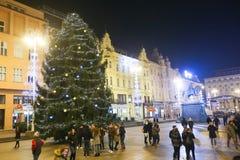 Advenimiento en Zagreb, Croacia 2016 Imagenes de archivo
